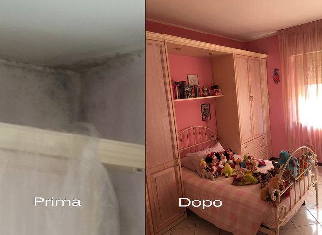 Eliminare muffa risanamento umidit condensa infiltrazioni - Eliminare condensa in casa ...